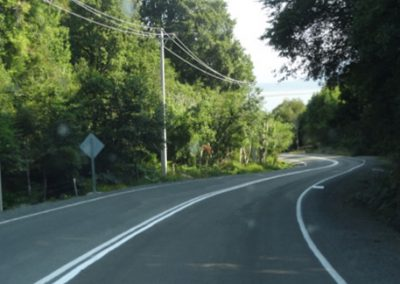 Camino Longitudinal Austral Ruta-7, Chaitén, Región de Los Lagos.