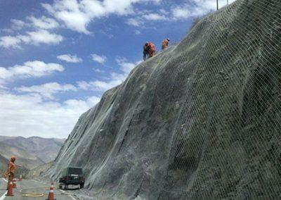 Estabilización de Taludes, San Félix. Región de Atacama.